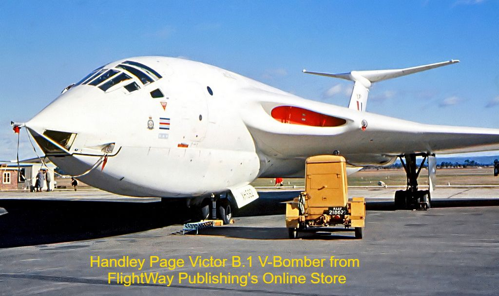 Handley Page B.1 Victor from the Online Store at www.pilotsnotes.com